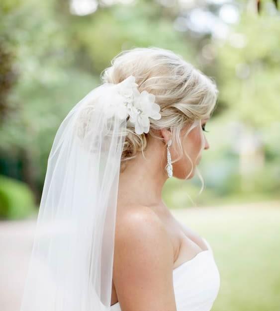 peinados boda moño bajo