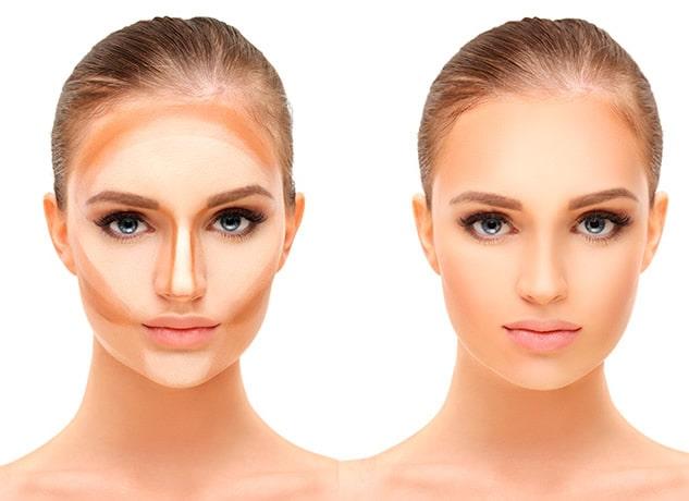 contouring maquillaje novias cabellos rubios