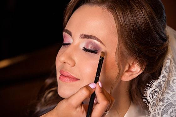 maquillaje para novias rubias