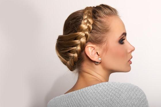 Peinados De Novia Con El Pelo Corto Peinados Para Bodas